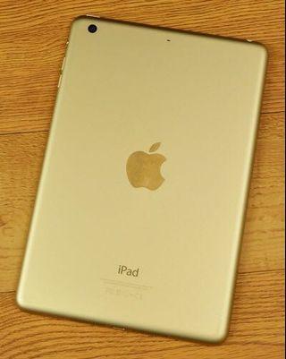 Apple iPad Mini 3 Gold 10/10 condition