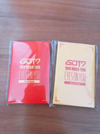 Got7 Eyes On You Tour Photocard Set