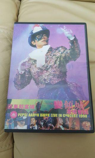 郭富城-一變傾城演唱會98 DVD