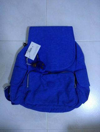 BN authentic kipling backpack in blue