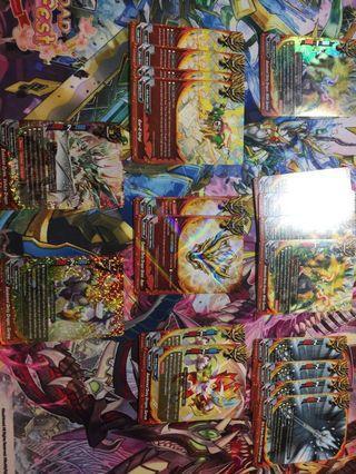 Buddyfight Budget Deity Dragon Tribe Deck