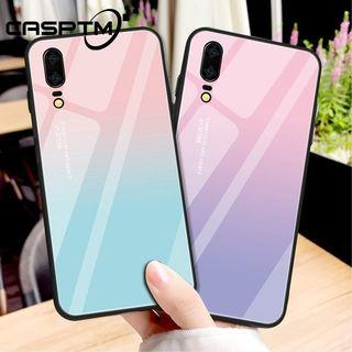 Tempered glass case for Huawei P20