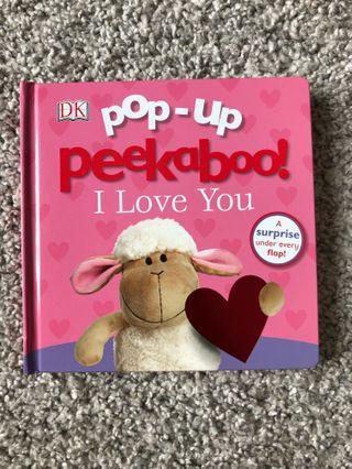 Pop up book / peek a boo BOOK