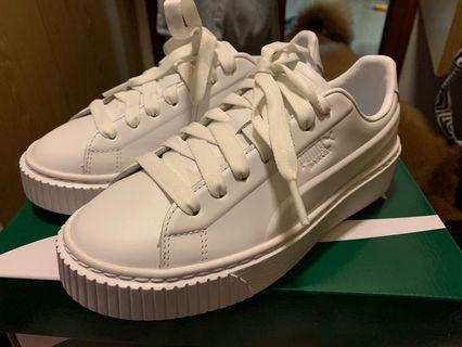 全新 Puma Platform  女 白 波鞋