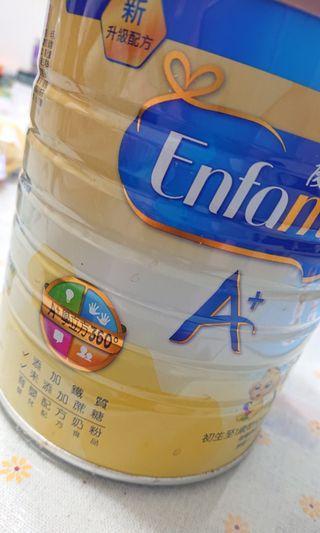 🚚 優生A+育嬰配方奶粉900g(半罐)