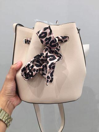 Soft Pink Bucket Bag