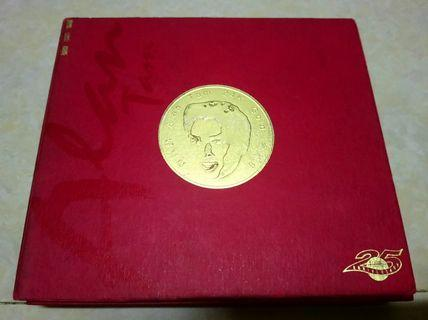 譚詠麟 Alan Tam 24K Gold 金藏集 CD Made in Japan