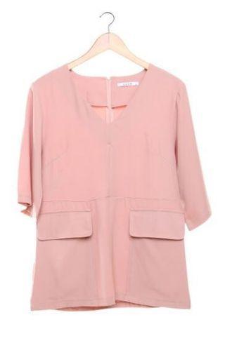 Lovo peach blouse