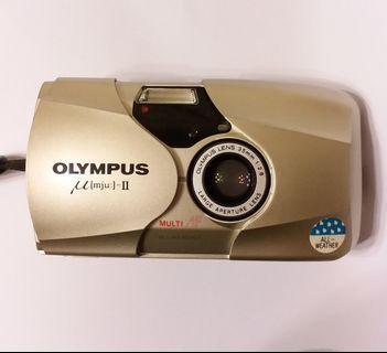Olympus mju-II經典F2.8定焦版菲林相機