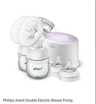 🚚 Philips Avent Electric Twin Breast Pump