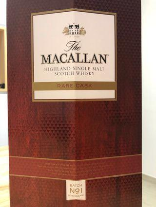 Macallan Rare Cask 2018 Batch 1 麥卡倫 奢想