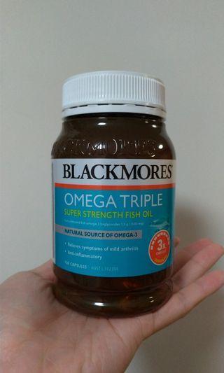 Blackmore 魚油 3倍濃度配方 限賣2樽 平均$2.5/粒
