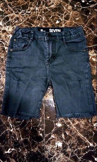 🔴 Original Black Ripped Denim Cotton On Kids not Zara #bapau