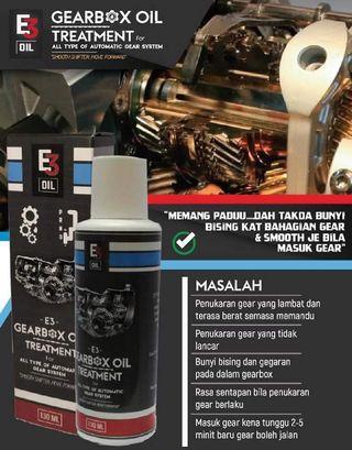 E3 Oil Gearbox Treatment