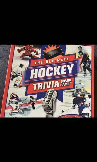 Like new!! Ultimate hockey trivia board game