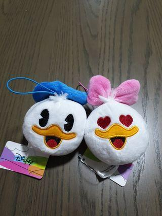 donald duck and daisy duck soft toy