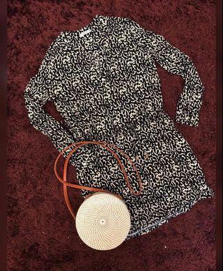 Monochrome dress/ top