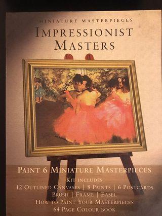 Impressionist Masters painting kit