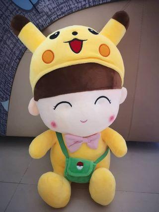 #CherasLM Cute Pikachu girl soft toys