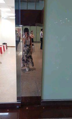🚚 韓式白色領無袖上衣加花花長裙顯瘦s