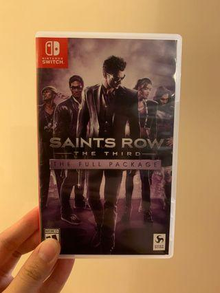 Saints Row 黑街聖徒 switch