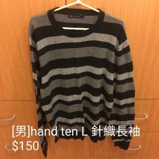 🚚 Hera clothes>hand ten 針織長袖 男裝