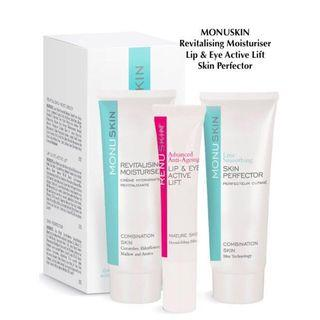 [FREE DELIVERY] Monuskin Daily Ritual Collection for Normal/Combination Skin