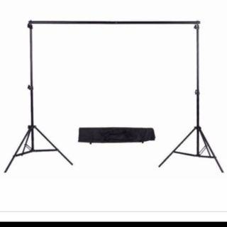 🚚 Photography Heavy Duty 2.6x3m 2.88x3m Photo Studio Backdrop ohotobooth Background Support party Stand Kit