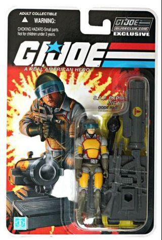GI Joe Club Exclusive FSS 2.0 Bombardier