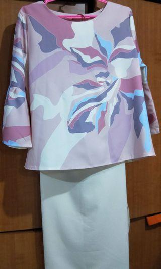 NatalieBella Baju Kurung Pendek Modern!