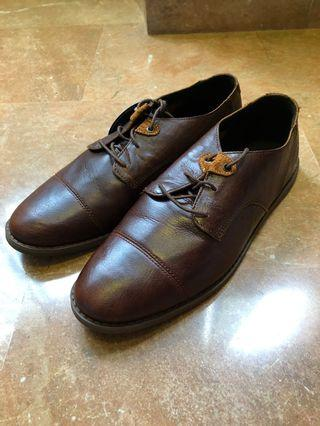 🚚 Timberland Brown Leather Oxford