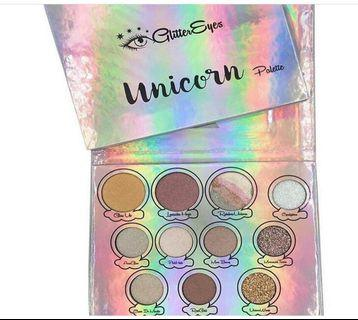GLITTER EYES UNICORN PALLETTE 😍💃🏻