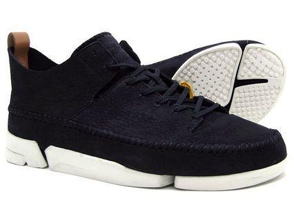 Clark's Flex UK 9 100%New 黑皮休閒鞋