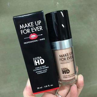 [現貨]make up forever浮生若夢HD高清晰無痕粉底液