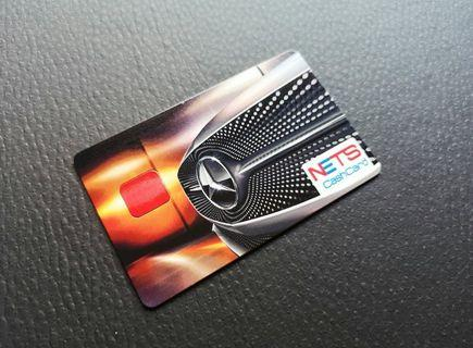 Authentic Mercedes-Benz NETS Cash Card