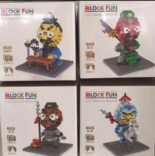 BNIB Loz Diamond Block