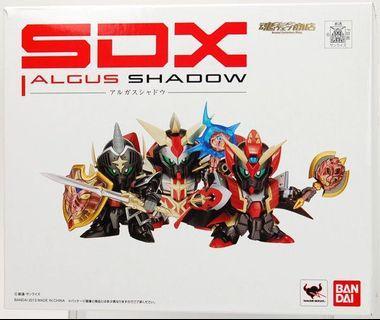 開封九成新 不連啡盒 日版 SdX Gundam Argus shadow
