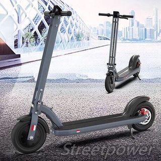 街創意Streetpower  T1  航空級鋁合金碟剎8.5吋折疊電動滑板車