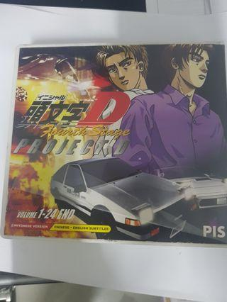 Initial D Fourth Stage Vcd