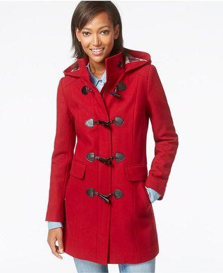 Tommy Hilfiger Red Coat