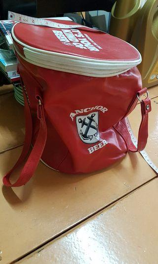 Anchor bag  collecting count plate