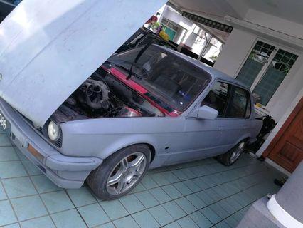 E30 m42 1.8 twin cam engine