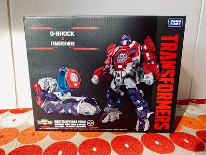 Transformers Optimus Prime and G Shock Watch Limited Edition Collaboration Set