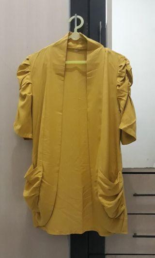 blazer mustard