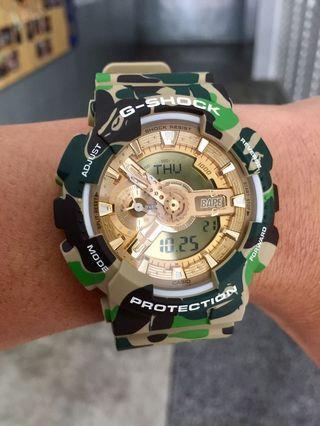 Casio x Bape Watch