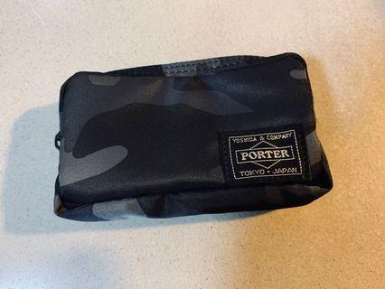 Authentic Yoshida & Company Head Porter Small Case Pouch Jungle Urban Camouflage