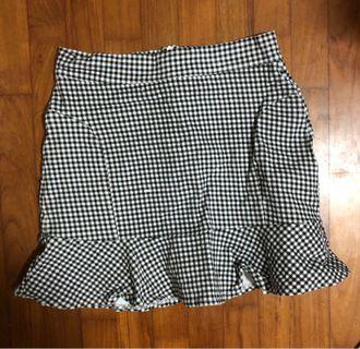 🚚 Gingham Skirt