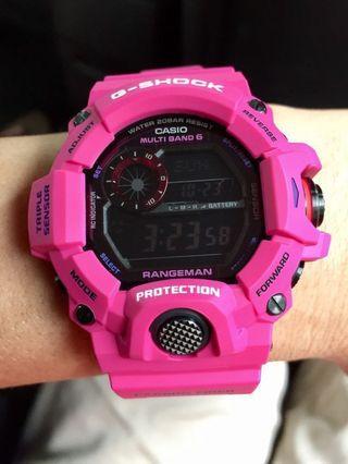 Japan JDM Casio G-Shock Sunrise Purple Series GW-9400 Limited Edition Rangeman Watch