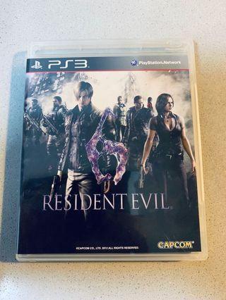 Sony PlayStation 3 PS3 Resident Evil 6