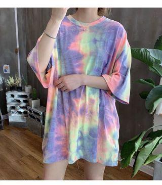 韓國T-shirt $298 One Size 胸國 128cm 衣長 79cm